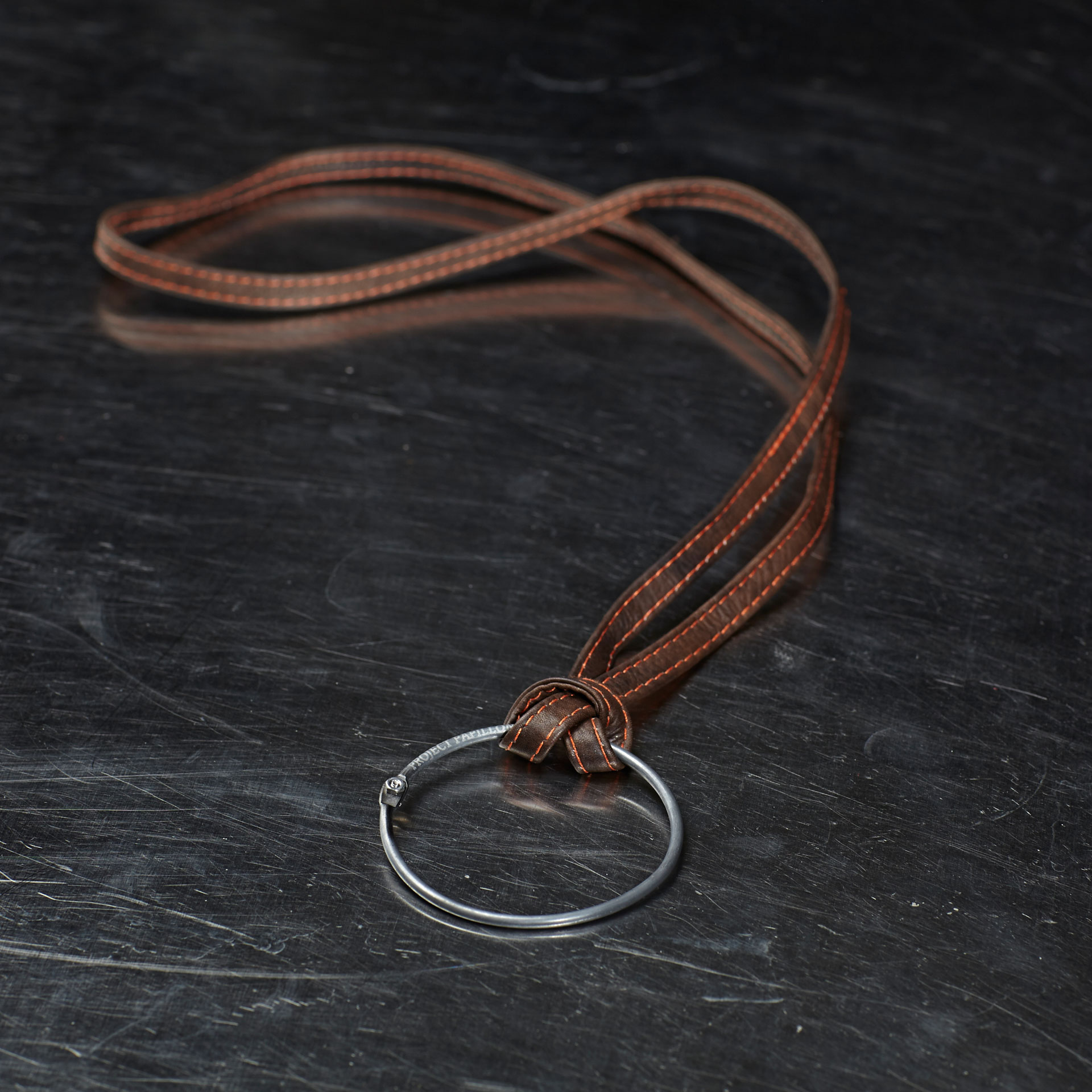 Key-Ring-brown-strap