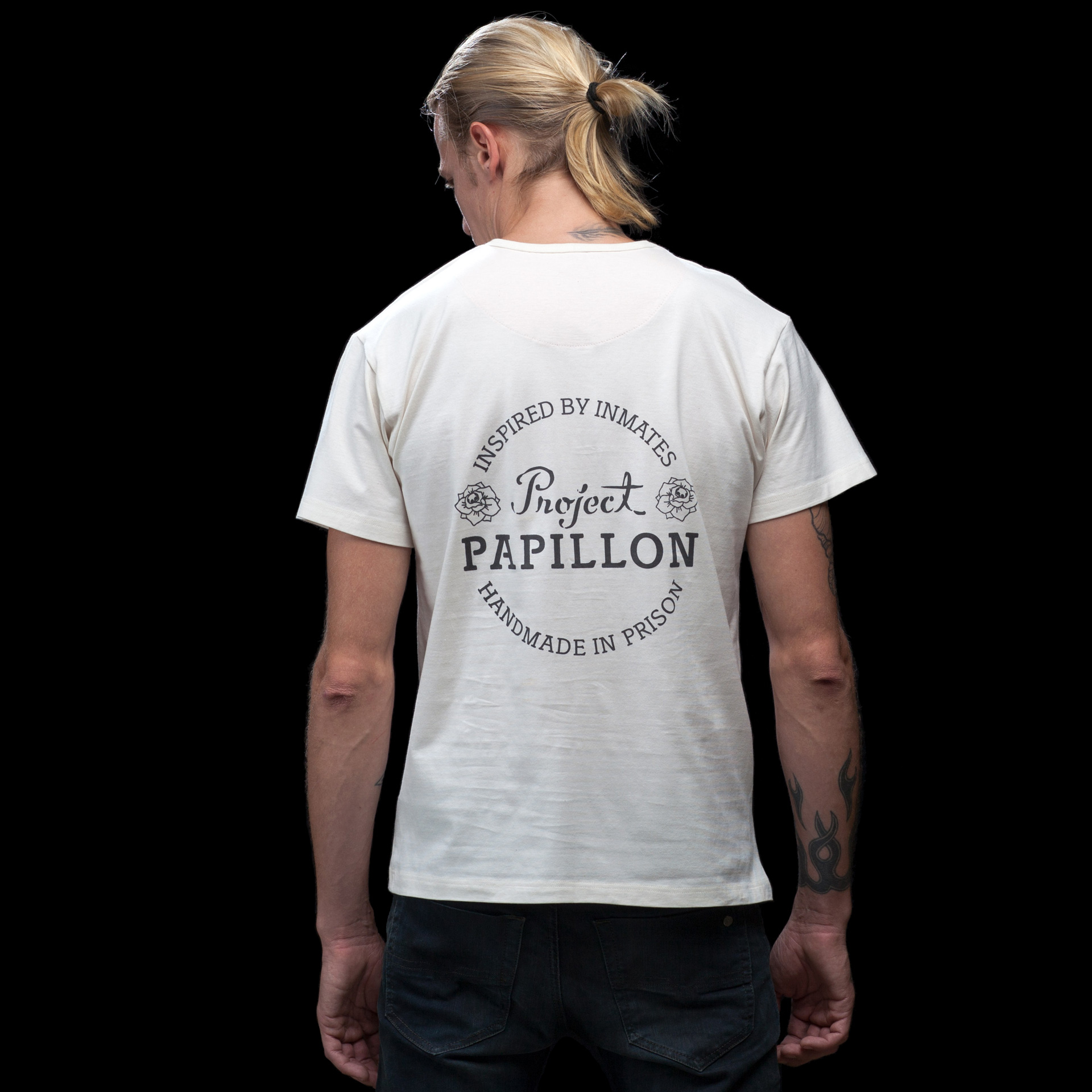Project-papillon-t-shirt-white-back